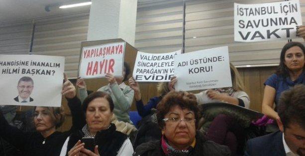 Üsküdar Belediye Başkanı'ndan Validebağ savunması: Cami yapılırsa evleriniz değerlenir