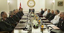 Yüksek Askeri Şûra toplantısı sona erdi