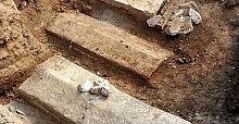 Çanakkale'de bulunan lahitlerden altın çıktı