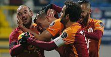 Galatasaray Kasımpaşa deplasmanından 3 puanla döndü