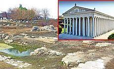 Dünyanın 7 Harikası'ndan biri olan Artemis Tapınağı sular altında