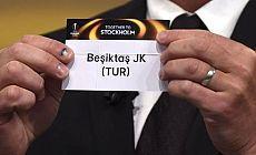Beşiktaş, Olympiakos'la eşleşti
