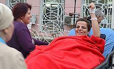 Hasta tutuklu Sibel Çapraz tahliye edildi