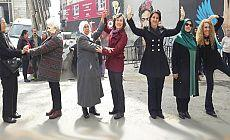 HDP'li vekillerden 'hayır' eylemi