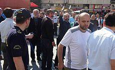 CHP'nin 'Adalet yürüyüşü'ne saldırı girişimi