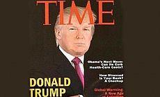 Trump'tan sahte Time kapağı