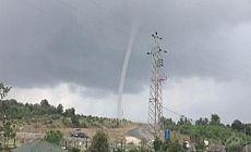 İstanbul'da yağış başladı, Beykoz'da hortum görüldü