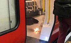 Londra metrosunda patlama