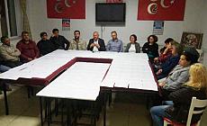 Denizli'de 209 kişi MHP'den istifa etti