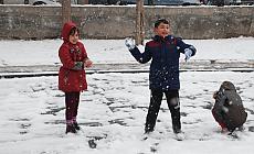 Trabzon'da kar tatili