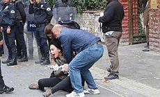 Yüksel Caddesi'nde polis müdahalesi: Gözaltılar var
