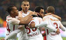 Galatasaray deplasmanda Kayserispor'u 3-1 mağlup etti