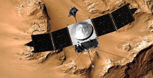 Uzay aracı 1 yıl sonra Mars'ın yörüngesinde