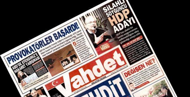 Vahdet bu kez de HDP adayı Aydın Çubukçu'yu hedef gösterdi