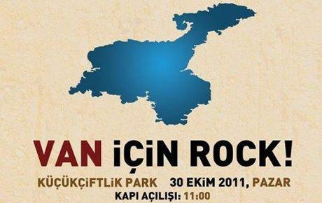 Van için Rock zamanı!