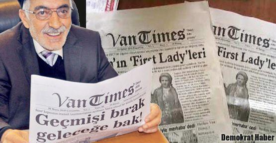 Van Times yeniden çıkacak!