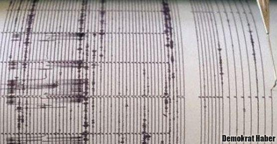 Van'da 4,5 şiddetinde deprem