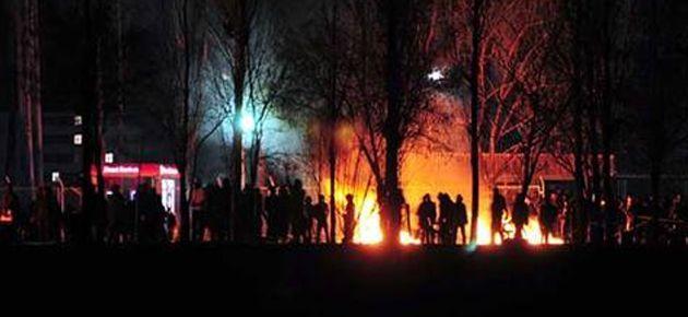 Van'da taciz isyanı: 26 gözaltı