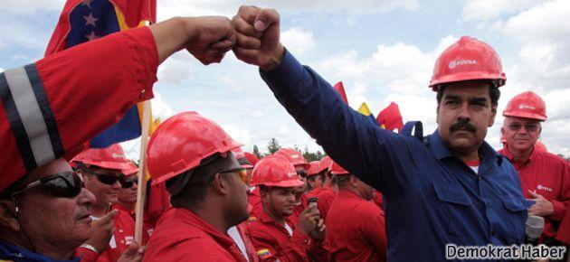 Venezuela'da seçimin galibi Maduro oldu