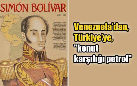 """Venezuela'dan, Türkiye'ye, """"konut karşılığı petrol"""""""