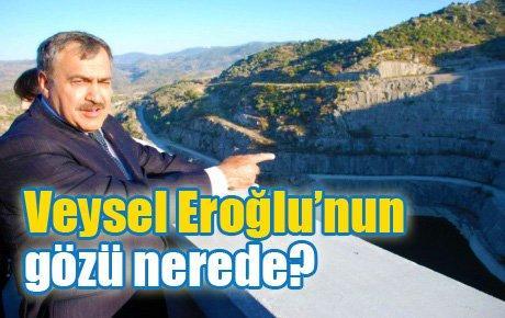 Veysel Eroğlu'nun gözü nerede?