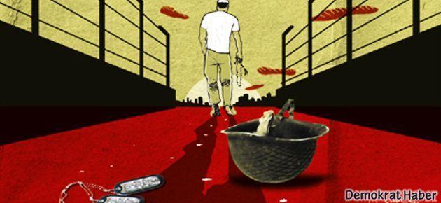 'Vicdani Retçi Onur Erden'e özgürlük'