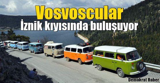 Vosvoscular İznik kıyısında buluşuyor