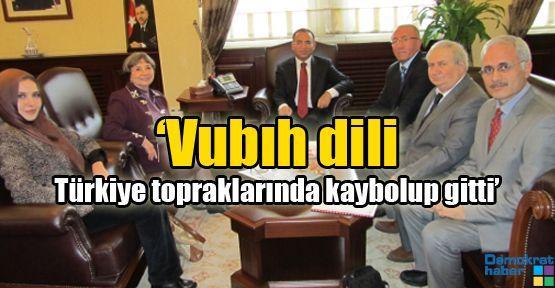 'Vubıh dili Türkiye topraklarında kaybolup gitti'