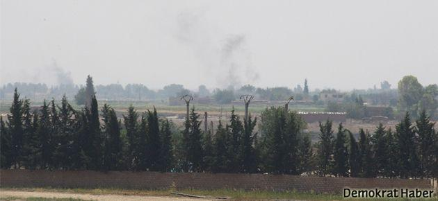 Vurulan Suriye helikopterinin görüntüleri