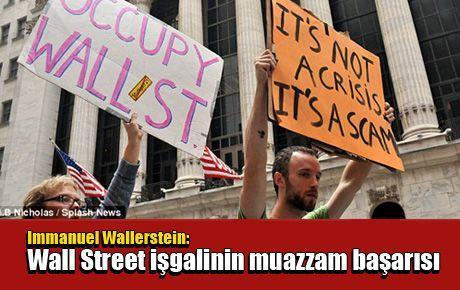 Wall Street İşgali'nin muazzam başarısı