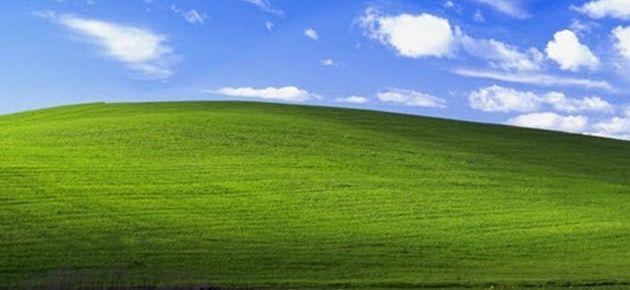 Windows XP'nin ünlü tepesi bugün ne halde