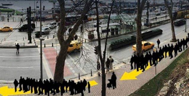 Yalanlanan 'Kabataş saldırısı' Sabah gazetesinin hoşuna gitmedi, photoshoplu görsel yayımladı!