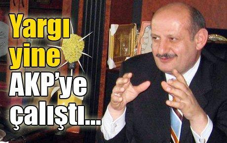 Yargı yine AKP'ye çalıştı