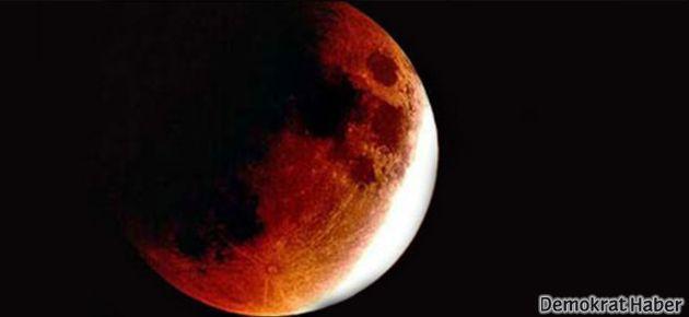 Kanlı Ay Tutulması yaşanacak!