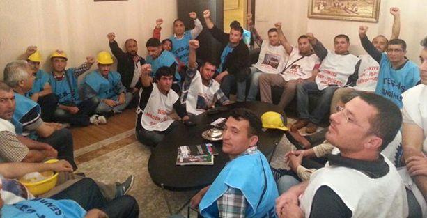 Yatağan işçileri Türk İş'i işgal etti