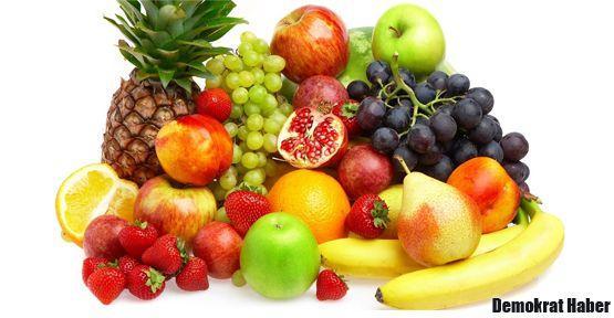 Yaz meyve ve sebzelerine ilgi gösterin