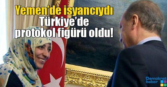 Yemen'de isyancıydı Türkiye'de protokol figürü oldu!