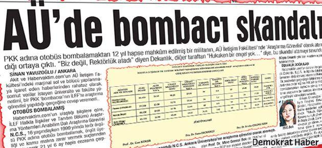 Yeni Akit'in Ankara İletişim'e iftiraları yasalmış
