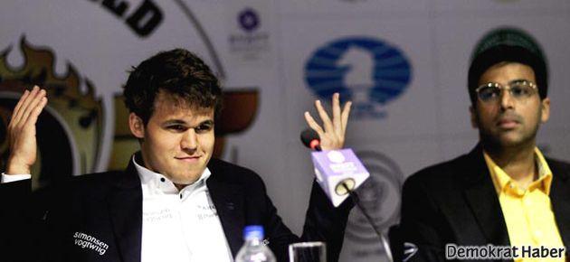 Yeni dünya satranç şampiyonu Carlsen