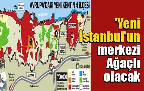 'Yeni İstanbul'un merkezi Ağaçlı olacak