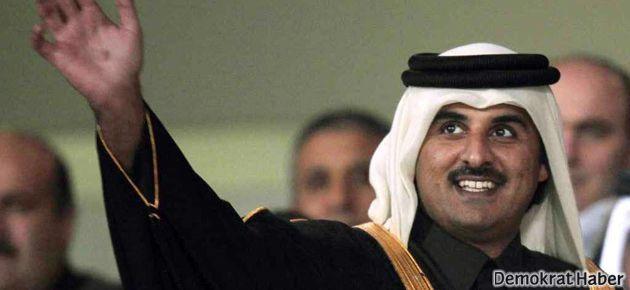 Yeni Katar Emiri'nden Şam'a dostluk mesajı