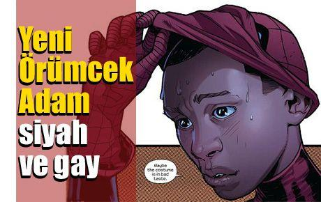 Yeni Örümcek Adam siyah ve gay