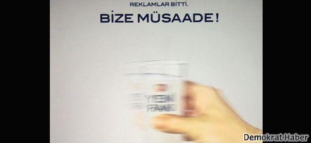 Yeni Rakı'nın veda ilanı: 'Bize Müsaade!'