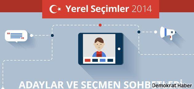 Yerel Seçimler 'Google Yerel Seçim 2014' portalında