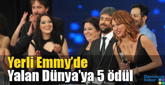 Yerli Emmy'de Yalan Dünya'ya 5 ödül
