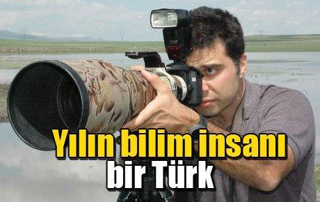 Yılın bilim insanı bir Türk