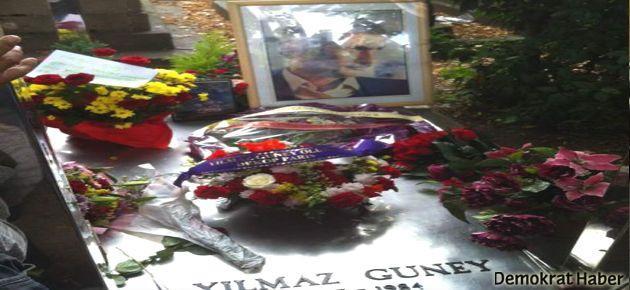 Yılmaz Güney mezarı başında anıldı
