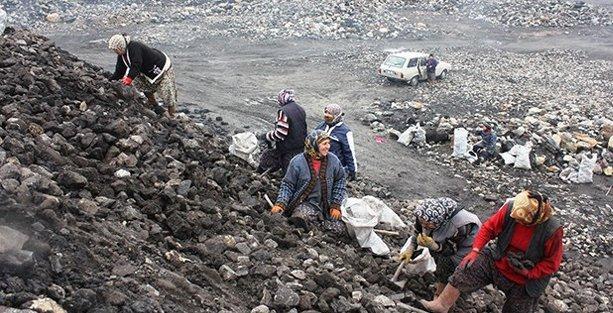 Yırcalılar: Taş dağı içinde bir parça kömür bulmak için 8 saat çalışıyoruz