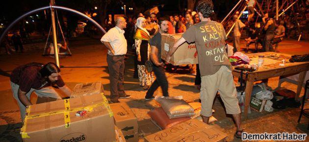 Yoğurtçu Parkı Forumu'ndan Rojava'ya destek