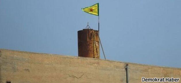YPG bayrağı indi, yerine YKK bayrağı asıldı